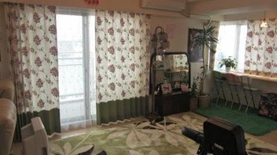 大阪市平野区にワールドファブリックスの輸入カーテンでお部屋を模様替え