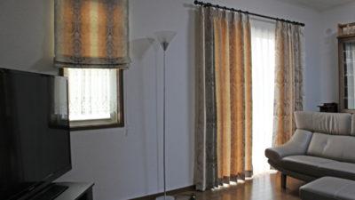 GANCEDO社人気のROMAのダマスクカーテンで飾りましょう   大阪府茨木市