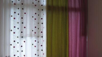 デザイナーズマンションのオーダーカーテンならこれ 京都市左京区