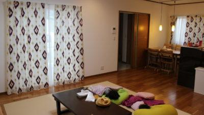 吹田市のオリエンタルインテリアなお家のオーダーカーテンはCAMENGOで決まり