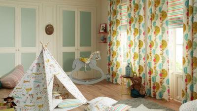 iliv(アイリブ)の新作子供部屋向けカーテンコレクションが発売 kids
