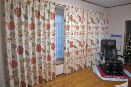 harlequin カーテン