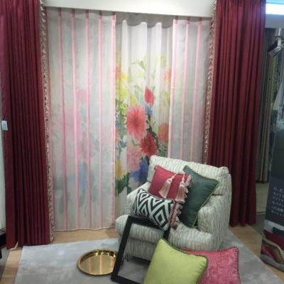 filoの新作カーテン展示会のため梅田グランフロントに行きました。