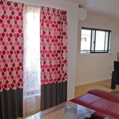 STUDIO GやCAMENGOの輸入カーテンで茨木市のお家をオシャレにカーテンコーディネート