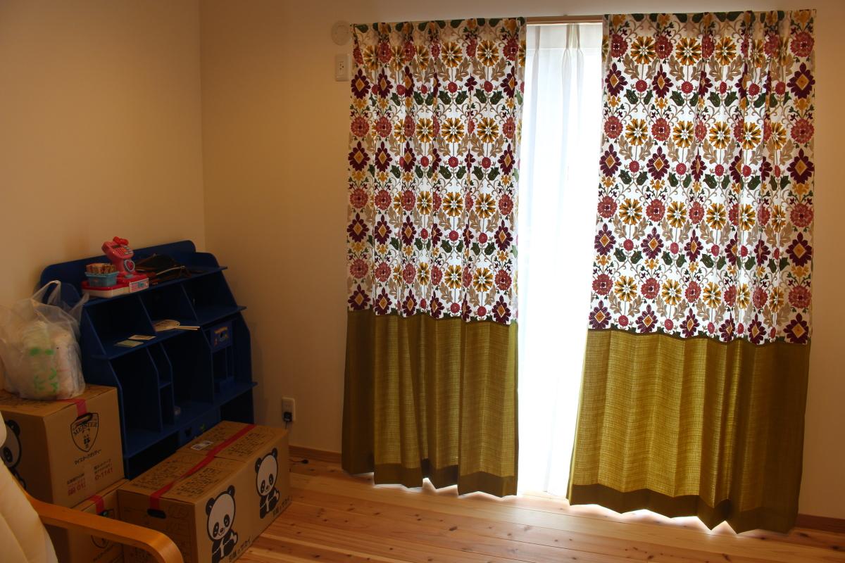 高槻市のオーダーカーテン