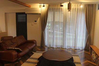 京都市西京区 オーダーカーテン