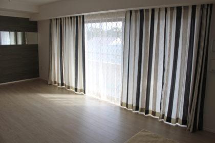 京都市上京区 オーダーカーテン