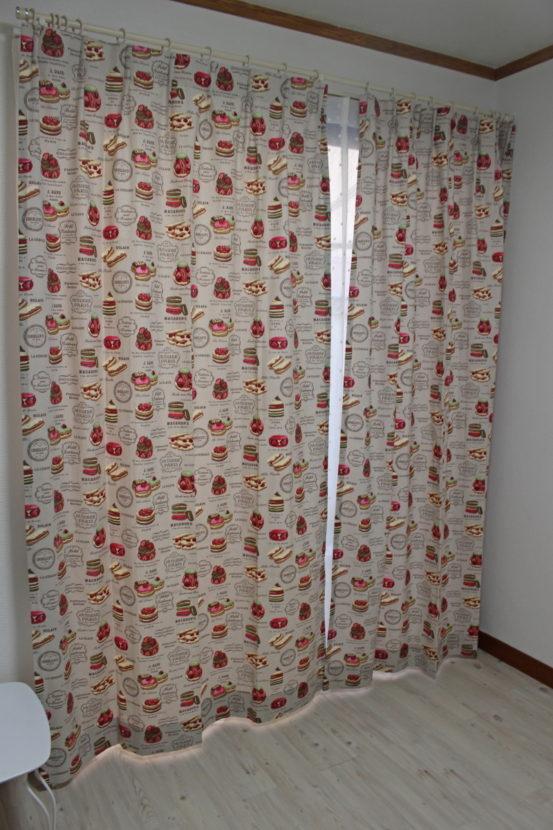 子供部屋 輸入カーテン