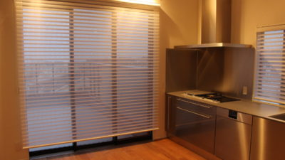 芦屋市の注文住宅のカーテンは人気の調光ロールスクリーンFUGAで決まり!