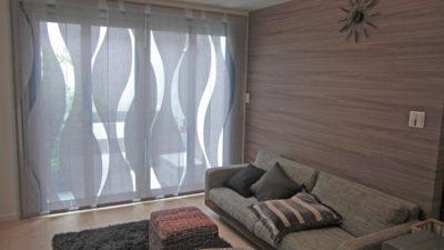 クリエーションバウマンのレースカーテンで摂津市のお家をコーディネート