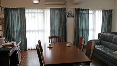 東大阪市のマンションにマナトレーディングのカーテンでシンプルにカッコよくみせてよう