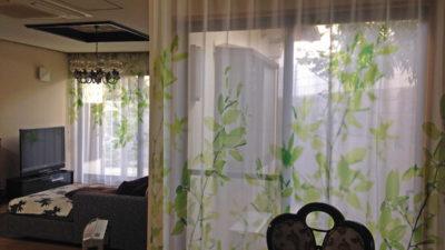 スイス製のデザインレースカーテンで気分もリフレッシュさせよう 大阪府吹田市