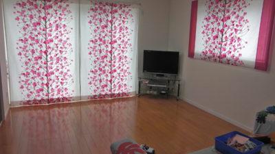 マリメッコの北欧カーテンで明るいお部屋にしよう 大阪府箕面市