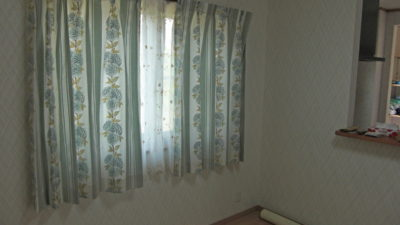 設計事務所とのコラボレーションで輸入カーテンをご提案 京都府木津川市