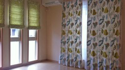 クラーク&クラークと五洋インテックスのカーテンでコーディネート 兵庫県川西市
