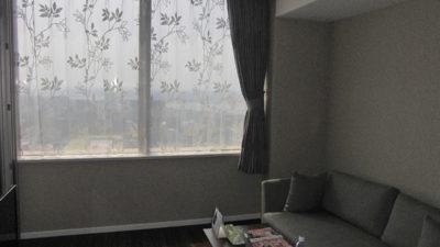 グランフロント梅田のマンションにオーダーカーテンコーディネート。大阪
