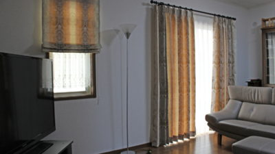 GANCEDOの輸入カーテン、ダマスクカーテンでカーテンコーディネート。