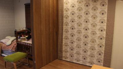 長岡京のご新築のカーテンはclarke&clarkeで決まり!京都