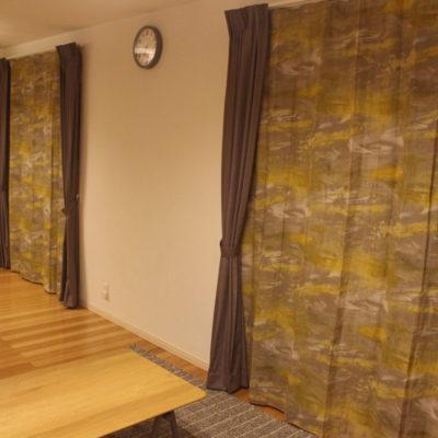 フランス製のリネンカーテンでナチュラルモダンなお部屋に!