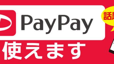 お支払いにPayPay、QR決済もカーテンご購入に使えます!またキャッシュレス消費者還元で更に5%ポイント還元。