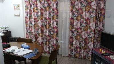 大阪のマンションのカーテンはFEDERICCOの花柄輸入カーテンでコーディネート!