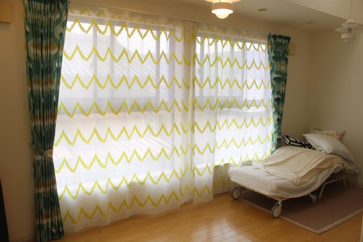 長岡京 オーダーカーテン