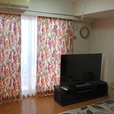 FEDERICCOの輸入カーテンで大阪のお家の部屋を明るく元気に模様替えしました!