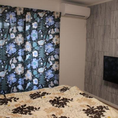 大阪府八尾市のご新築 北欧カーテンで元気に明るく個性的に!