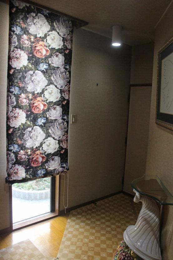 クラーク 花柄 カーテン
